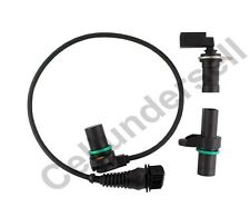 Engine Intake Exhaust Cam Camshaft Crankshaft Position Sensor Set For BMW E46 X3