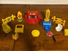 Fisher Price Little People Accessories Set