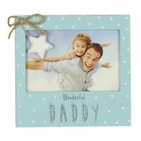 "Love Life Wonderful Daddy Photo Frame Suits 6"" x 4"" Photos"