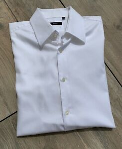 Chemise HUGO BOSS Blanche - maille structurée - Taille 42