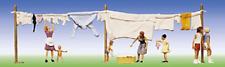 Faller 151014 Wash Day (Washing Line & People) HO Gauge Figures Set