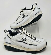 Skechers Shape Ups XT Walking Shoes White Fitness Toning Rocker Mens 10.5