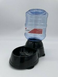 Pet Simple Function Pet Dog Cat Waterer Dispenser Gravity 0.25 Gallons
