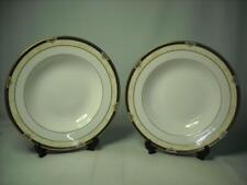 TWO Spode AVIGNON PASTA OR SOUP BOWLS - Cobalt Blue Gold Two Sets of 2 available