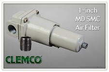 "Compressed Air Inline Moisture, Water Separator Filter 1"" High CFM"
