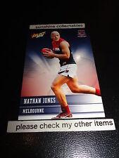2012 SELECT AFL CHAMPIONS BASE CARD NO.130 NATHAN JONES MELBOURNE