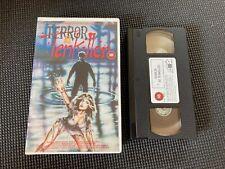 TERROR AT TENKILLER (1986) - CASTLE BIG BOX ORIGINAL EX RENTAL VHS VIDEO.