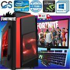 Fast Gaming Pc Computer Bundle Intel Quad Core I5 16gb 1tb 2gb Gt710 Win10