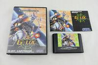 Jeu G-LOC AIR BATTLE pour Sega MEGA DRIVE (MD) COMPLET PAL