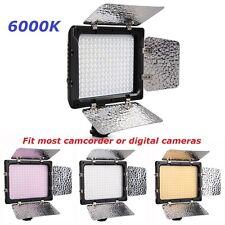 New W180 Video LED Lights 6000K for Canon Nikon DSLR Digital Camera Camcorder