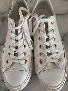 converse size 8 Leather