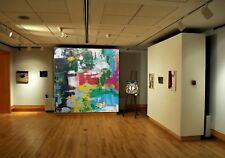 Acrylic ABSTRACT PAINTING ACRYLIC Fine Art Contemporary Art Coloured Modern