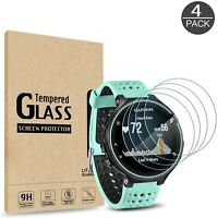 4 Pack For Garmin Forerunner 45 Tempered Glass Protector Smart Watch Protection