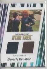 "Star Trek Women of 50th Anni DUAL Costume Trading Card No.RC2 ""Dr. Crusher"""