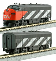 KATO 1060425 N SCALE EMD F7A + F7B CN 9080/9057 2-Loco POWERED Set  106-0425