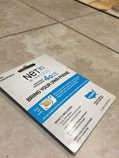 Net10 Dual Sim Card with two months $40 Plan(Read Description)