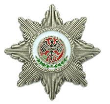 PIN schwarzer Adlerorden Preussen Stern aus Metall Ansteckpin # 363 Neu