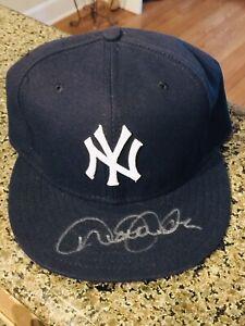 Derek Jeter Signed Autograph Baseball Hat Cap, MLB COA