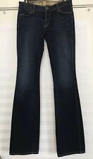 RICH AND SKINNY Denim Dark Wash Mid Rise Bootcut Jeans - Size 28