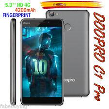 """5.3"""" 4G 4200mAh 16GB+2GB Móvil ID Touch 13MP 2*SIM Smartphone Doopro C1 Pro Gris"""