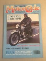 Classic Motor Cycle Magazine Motorcycle April 1990