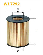 Filtron OE665 Oil Filter Fits Galaxy, Mondeo, Mondeo Turnier, S-Max, 6 Series