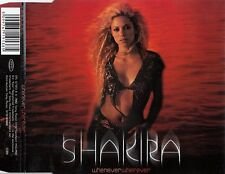 SHAKIRA : WHENEVER WHEREEVER / 4 TRACK-CD - TOP-ZUSTAND