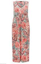 M&Co Polyester V-Neck Sleeveless Dresses for Women