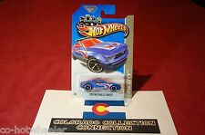 Hot Wheels - Ford Mustang GT Concept - 2013 HW City - T-Hunt 14/250 1:64 Blue