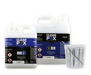ClearPox Epoxy Casting Resin Ultra Clear 2:1 Craft, River Table, AUS Made
