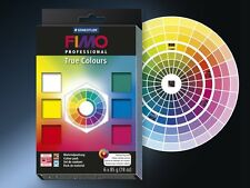 Fimo professional 6-Piece True Colours Blocks Pack - Multi-Colour 6 x 85g Blocks