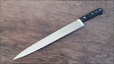 "UNUSED Vintage Sabatier Carbon Steel Chef's ""Canadian"" Slicing/Carving Knife NOS"