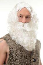 CARNAVAL CARNAVAL NAVIDAD Papá Noel peluca y Barba Santa Claus 6095a + B