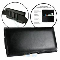 Premium Black Leather Holster Pouch Case Cover Belt Clip For iPhone 11 Pro Max