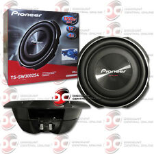 """PIONEER TS-SW3002S4 12"""" SINGLE 4 OHM CAR SHALLOW MOUNT SUBWOOFER 400W RMS"""