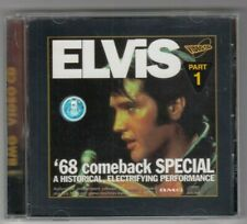 ELVIS LIVE - 1968 COMBACK SPECIAL ! PART 1 - Rare Disc VCD  Video Cd - BMG CO.