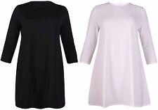 Scoop Neck Short Sleeve Casual Shirt Dresses