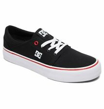 Tg 38 - Scarpe Donna DC Shoes Trase TX Black White Red Sneakers Schuhe 2019