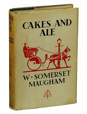 Cakes and Ale by W. SOMERSET MAUGHAM ~ First Edition 1930 ~ 1st State Heinemann