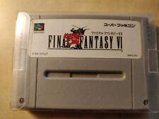 Final Fantasy 6 SNES japanisch
