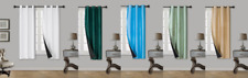 1 SINGLE PANEL INNOVATING BLACK FOAM LINED 100% BLACKOUT WINDOW CURTAIN DRAPES