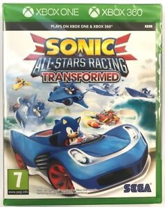 Sonic And All Stars Racing Transformed Xbox One and Xbox 360 ** NEW & SEALED **