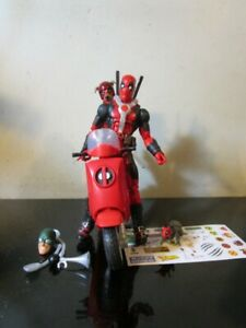 Marvel Legends Deadpool with Scooter 6 Figure Vehicle Lot