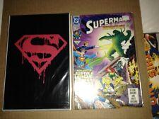 Superman #74, 75 (1993, DC) comic lot---sealed