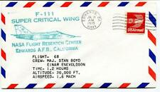 1975 F 111 Super Critical Wing Flight 68 Research Center Edwards Enevoldson NASA