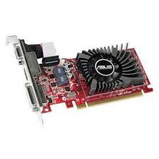 Asus Radeon R7 240, 2GB DDR3, PCIe3, VGA, DVI, HDMI, 730MHz Clock, Low Profile (