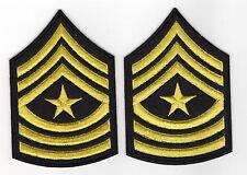 Sergeant Major Aufnäher U.S. Army 2 Stück Marines Navy USA Luftfahrt Patch