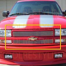 For Chevy S-10 Stepside/Blazer/Blazer Lt 98-04 Upper Billet Grille Insert