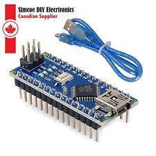 Arduino Nano V3.0 + mini USB Cable,16M 5V ATmega328P Micro-Controller #338