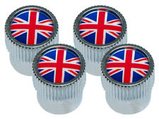 Land Rover / Range Rover Union Jack Valve Cap Set of 4 LR027664